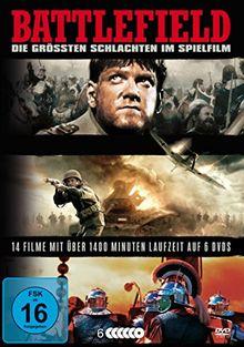 Battlefield - Die größten Schlachten im Spielfilm (6 DVDs)
