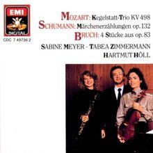 Kegelstatt-Trio KV 498 / Märchenerzählungen Op. 134 / 4 Stücke aus Op. 83