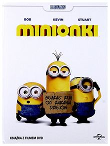 Minionki / Minions [DVD + Książką] [PL Import]