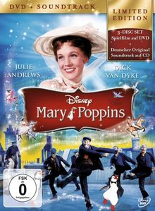 Mary Poppins (+ Audio-CD) [Limited Edition] [2 DVDs]