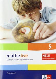 Mathe live 5. Arbeitsheft. Neu: Mathematik für Sekundarstufe I