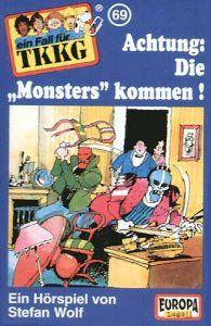 """TKKG 69: Achtung, die """"Monsters"""" kommen [Musikkassette]"""