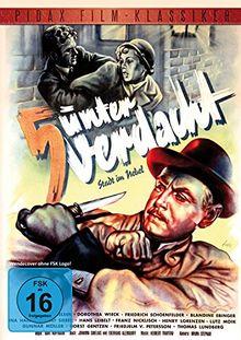 5 unter Verdacht (Stadt im Nebel) - Spannender Kriminalfilm mit Hans Nielsen (Pidax Film-Klassiker)