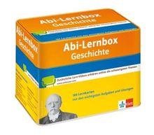 Abi-Lernbox Geschichte: Die 100 wichtigsten Aufgaben und Lösungen auf Lernkarten mit zusätzlichen Lernvideos online