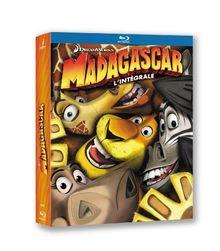 Coffret trilogie madagascar [Blu-ray] [FR Import]