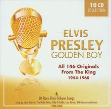 "ELVIS PRESLEY ""Golden Boy"" - All 146 Originals From The King (1954 - 1960) + 20 Rare Elvis-Tribute Songs"