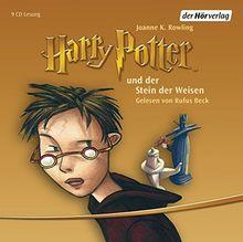 Harry Potter und der Stein der Weisen: Gelesen von Rufus Beck