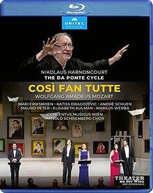 Mozart: Cosi fan tutte [Nikolaus Harnoncourt; Theater an der Wien, 2014] [Blu-ray]