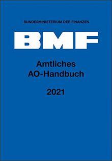 Amtliches AO-Handbuch 2021