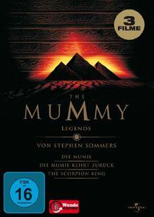 The Mummy Legends Mumie 1 + 2 + Scorpion King [3 DVDs]