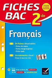 Fiches Bac 2de: Francais