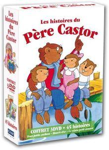 Coffret père castor : 3 petits cochons ; boucle d'or ; vilain petit canard [FR Import]