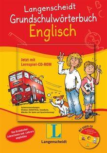 Langenscheidt Grundschulwörterbuch Englisch - Buch mit Audio-CD + Vokabelspiel auf CD-ROM