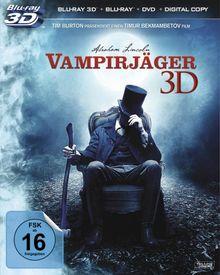 Abraham Lincoln - Vampirjäger 3D (+ Blu-ray + DVD + Digital Copy) [Blu-ray 3D]