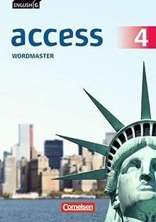English G Access - Allgemeine Ausgabe: Band 4: 8. Schuljahr - Wordmaster mit Lösungen