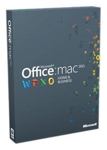 Office für Mac 2011 Home & Business (1 Pack / deutsch)