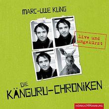 Die Känguru-Chroniken: Live und ungekürzt: 4 CDs
