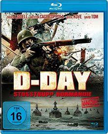 D-DAY - Stoßtrupp Normandie (uncut) [Blu-ray]