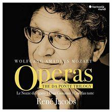 Mozart: Da-Ponte-Trilogie mit René Jacobs