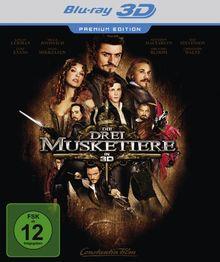 Die drei Musketiere (Premium Edition) [Blu-ray 3D]