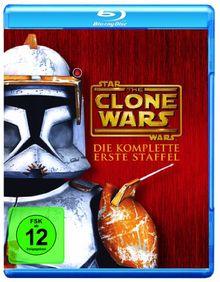 Star Wars: The Clone Wars - Staffel 1 [Blu-ray]