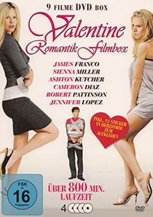 Romantic Filmbox : Kopf über Wasser - Verbotene Liebe - Personal Effects - Life Is Changing - The Answer Man - Serious Moonlight - Camille - Beautiful ... - Liebe oder lieber doch nicht - 4 DVD Box