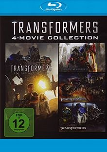 Transformers 1-4 Quadrologie - 4-Movie Collection [Blu-ray]