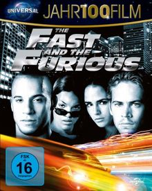 The Fast and the Furious - Jahr100Film [Blu-ray]