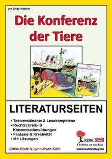 Konferenz der Tiere - Literaturseiten