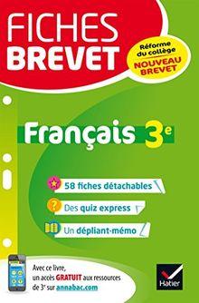 Français 3e : Nouveau brevet