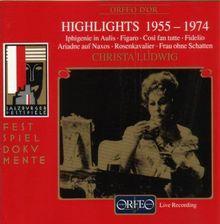 Christa Ludwig: Opernarien (Live Salzburg 1955-1974)
