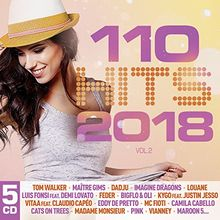 110 Hits 2018 (5CD Multipack)