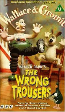 Wallace & Gromit - The Wrong Trousers [VHS] [UK Import]