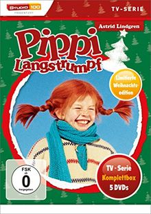 Pippi Langstrumpf - TV-Serie Komplettbox (5 Discs, Exklusivprodukt)