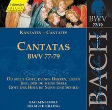 Edition Bachakademie Vol. 25 (Geistliche Kantaten BWV 77-79)