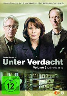 Unter Verdacht - Volume 3/Filme 11-15 [3 DVDs]