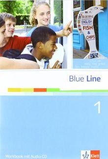 Blue Line 1. Workbook mit Audio-CD. Oberschule. Niedersachsen: 5. Schuljahr: Bd 1