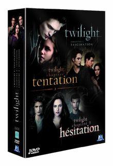 Coffret twilight : fascination : tentation ; hésitation