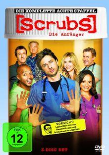 Scrubs: Die Anfänger - Die komplette achte Staffel [3 DVDs]