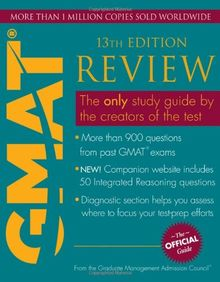 The Official Guide for GMAT Review (Official Guide for the GMAT Review)