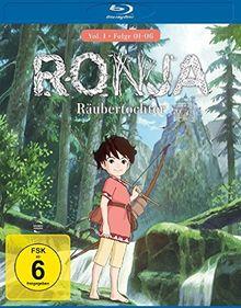 Ronja Räubertochter Vol. 1/Folge 01-06 [Blu-ray]