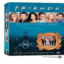Friends: Complete Eighth Season [DVD] (2010) Jennifer Aniston; Courteney Cox (japan import)