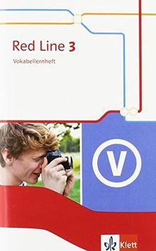 Red Line / Vokabellernheft: Ausgabe 2014