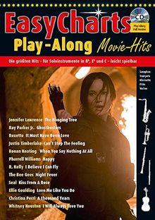 Easy Charts Play-Along Sonderband: Movie Hits!: Die größten Hits spielerisch leicht gesetzt. Sonderband 1. C/Eb/Bb-Instrument. Spielbuch mit CD. (Music Factory)
