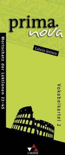 prima.nova Latein lernen Vokabelkartei 2: Zu den Lektionen 22-45