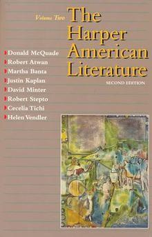Harper American Literature, Volume II