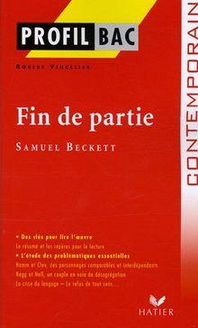 Profil D'Une Oeuvre: Beckett