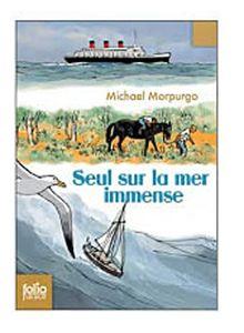 Seul Sur La Mer Immense (Folio Junior)