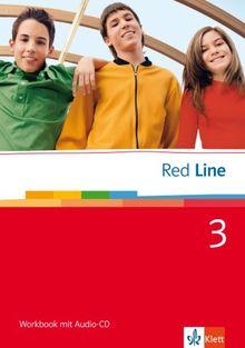 Red Line. Unterrichtswerk für Realschulen: Red Line. Workbook 3. Klasse 7: BD 3