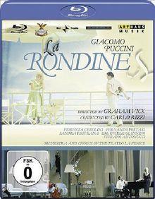 Giacomo Puccini - La Rondine [Blu-ray]